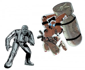 Robo vs Iron Man